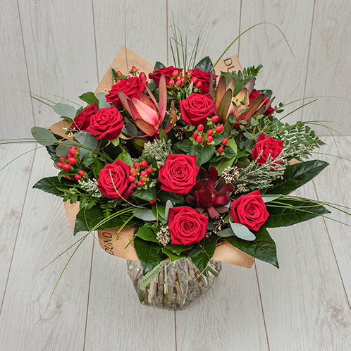Rose Bouquet in Red